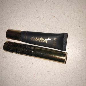 Tarte eyeliner and mascara